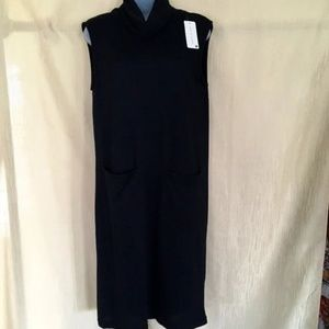 NWT Jon & Anna Black Cowl Neck Dress-Medium